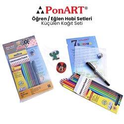Ponart - Ponart Küçülen Kağıt Seti PHS-25