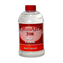 Ponart Mat Vernik -Matt Varnish No:208 - Thumbnail