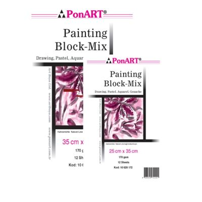 Ponart Painting Block Mix 170g 12 yp