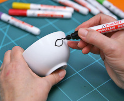 Ponart Porselen Kalemi - Thumbnail