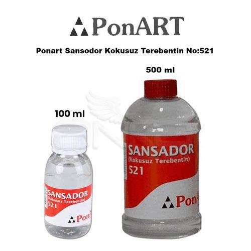 Ponart Sansodor Kokusuz Terebentin No:521