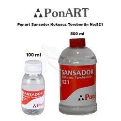 Ponart Sansodor Kokusuz Terebentin No:521 - Thumbnail