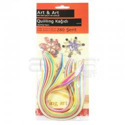 Anka Art - Quilling Kağıdı 35cm 280 Şerit Kod:QP-280