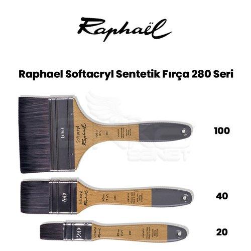 Raphael Softacryl Sentetik Fırça 280 Seri