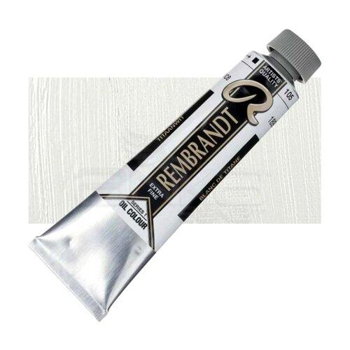 Rembrandt 40ml Yağlı Boya Seri:1 No:105 Titanium White - 105 Titanium White