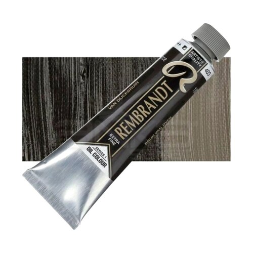 Rembrandt 40ml Yağlı Boya Seri:1 No:403 Vandayke Brown - 403 Vandayke Brown
