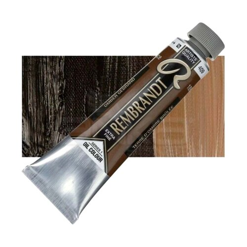 Rembrandt 40ml Yağlı Boya Seri:1 No:409 Burnt Umber - 409 Burnt Umber
