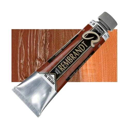 Rembrandt 40ml Yağlı Boya Seri:1 No:411 Burnt Sienna - 411 Burnt Sienna