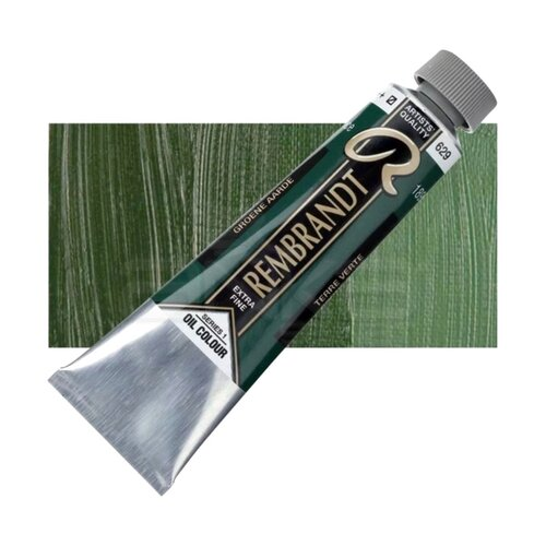 Rembrandt 40ml Yağlı Boya Seri:1 No:629 Green Earth - 629 Green Earth