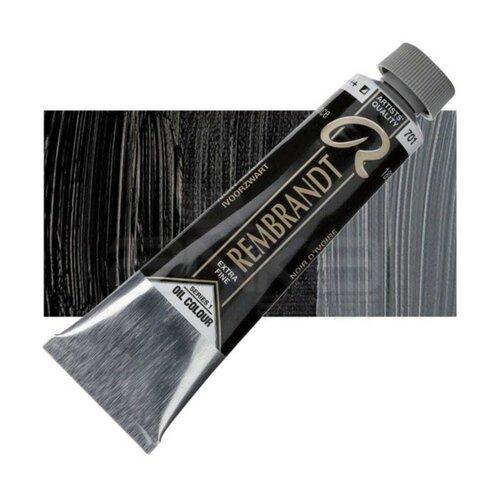 Rembrandt 40ml Yağlı Boya Seri:1 No:701 Ivory Black - 701 Ivory Black