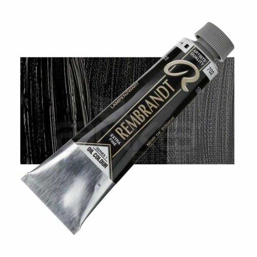 Rembrandt 40ml Yağlı Boya Seri:1 No:702 Lamp Black - 702 Lamp Black