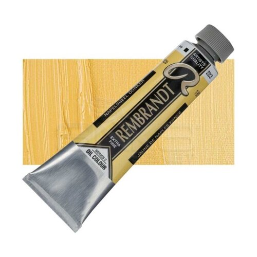 Rembrandt 40ml Yağlı Boya Seri:2 No: 223 Naples Yellow D - 223 Naples Yellow D