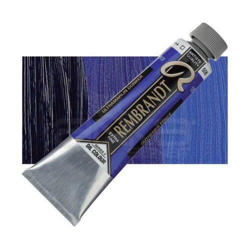 Rembrandt 40ml Yağlı Boya Seri:2 No:506 Ultramarine D - 506 Ultramarine D