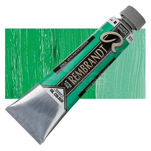 Rembrandt 40ml Yağlı Boya Seri:2 No:615 Emerald Green - 615 Emerald Green