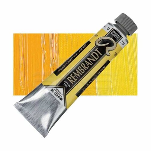 Rembrandt 40ml Yağlı Boya Seri:3 No:272 Transp. Yellow M - 272 Transp. Yellow M