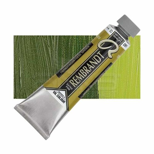 Rembrandt 40ml Yağlı Boya Seri:3 No:281 Transp. Yellow Green - 281 Transp. Yellow Green