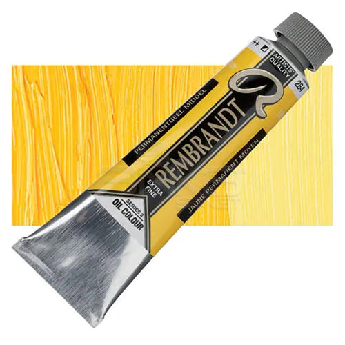 Rembrandt 40ml Yağlı Boya Seri:3 No:284 Perm.Yellow M - 284 Permanent Yellow Medium