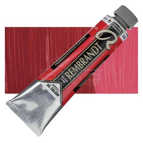 Rembrandt 40ml Yağlı Boya Seri:3 No:348 Perm Red Purple - 348 Perm Red Purple