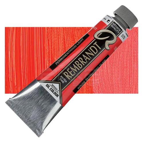 Rembrandt 40ml Yağlı Boya Seri:3 No:370 Permanent Red L - 370 Permanent Red L