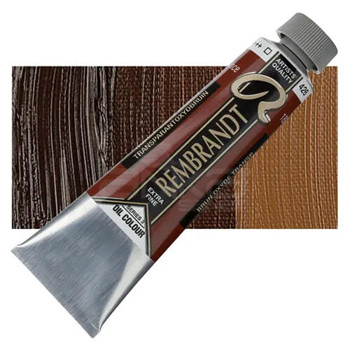 Rembrandt 40ml Yağlı Boya Seri:3 No:426 Transp.ox. Brown - 426 Transp.ox. Brown