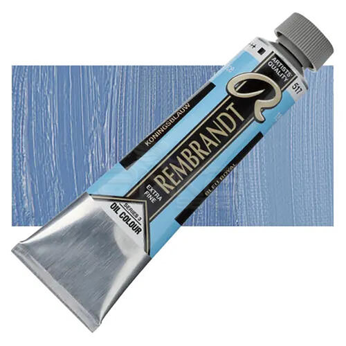 Rembrandt 40ml Yağlı Boya Seri:3 No:517 Kings Blue - 517 King's Blue
