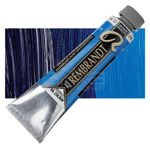 Rembrandt 40ml Yağlı Boya Seri:3 No:576 Phthalo Blue Green - 576 Phthalo Blue Green