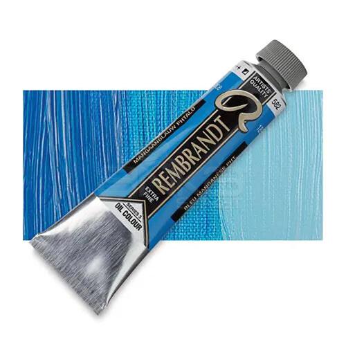 Rembrandt 40ml Yağlı Boya Seri:3 No:582 Manganese Blue (Phthalo) - 582 Manganese Blue (Phthalo)