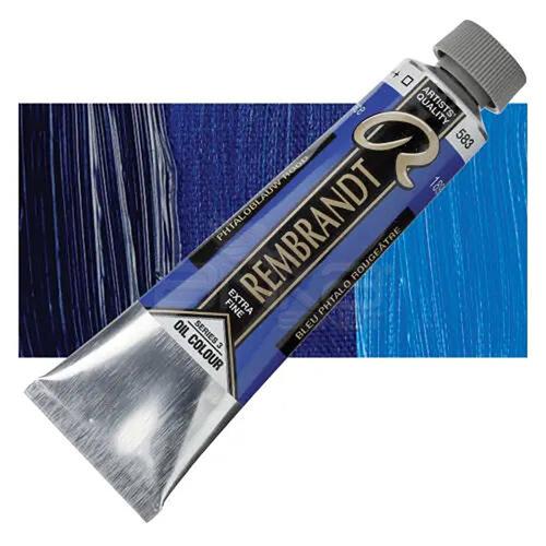 Rembrandt 40ml Yağlı Boya Seri:3 No:583 Phthalo Blue Red - 583 Phthalo Blue Red