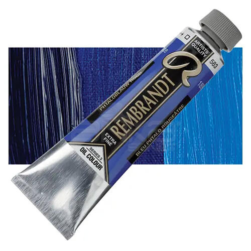 Rembrandt 40ml Yağlı Boya Seri:3 No:583 Phthalo Blue Red - 583 Phthalo Blue Red