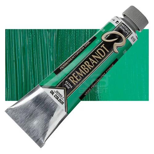 Rembrandt 40ml Yağlı Boya Seri:3 No:619 Perm Green D - 619 Perm Green D