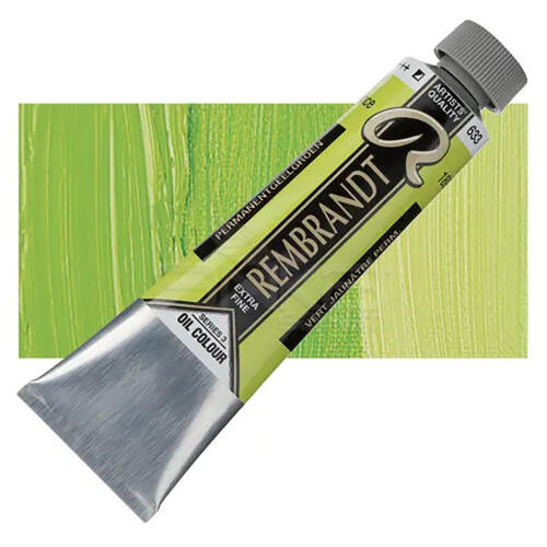 Rembrandt 40ml Yağlı Boya Seri:3 No:633 Perm Yellow Green - 633 Perm Yellow Green