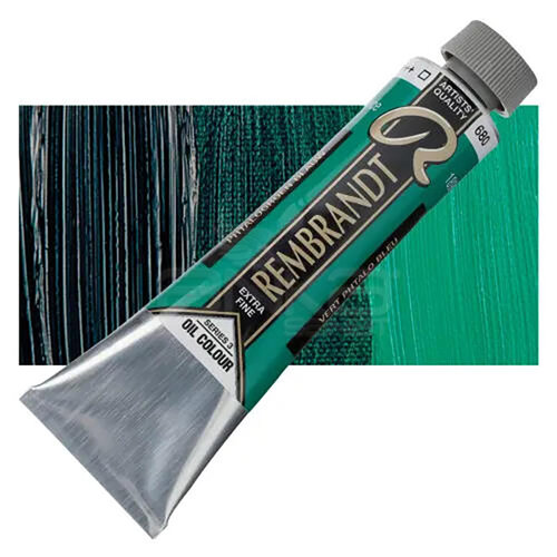 Rembrandt 40ml Yağlı Boya Seri:3 No:680 Phthalo Green Blue - 680 Phthalo Green Blue