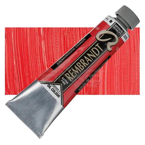 Rembrandt 40ml Yağlı Boya Seri:4 No:306 Cadmium Red D - 306 Cadmium Red D