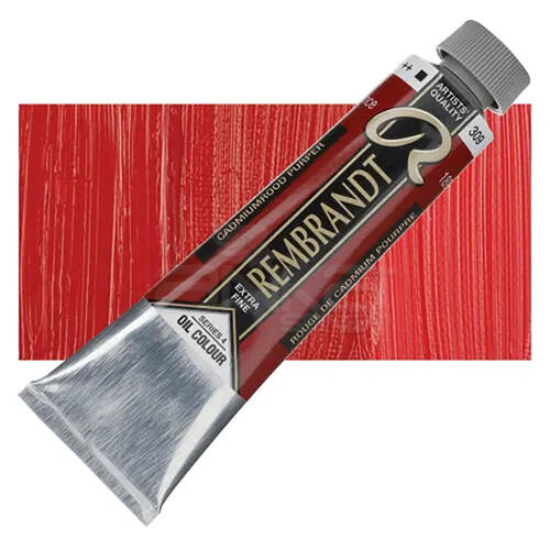 Rembrandt 40ml Yağlı Boya Seri:4 No:309 Cadm Red Purple - 309 Cadm Red Purple