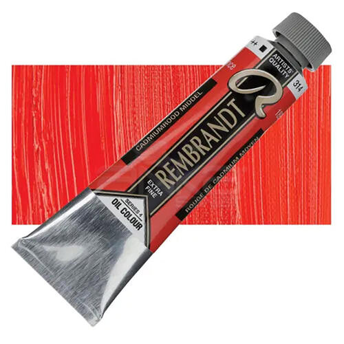 Rembrandt 40ml Yağlı Boya Seri:4 No:314 Cadmium Red M - 314 Cadmium Red M