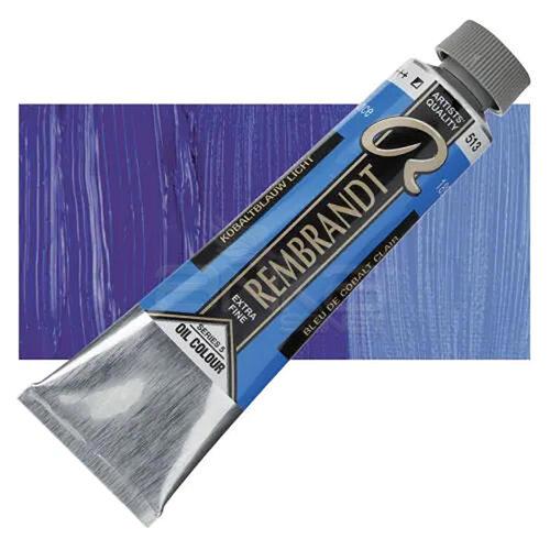 Rembrandt 40ml Yağlı Boya Seri:5 No:513 Cobalt Blue L - 513 Cobalt Blue L