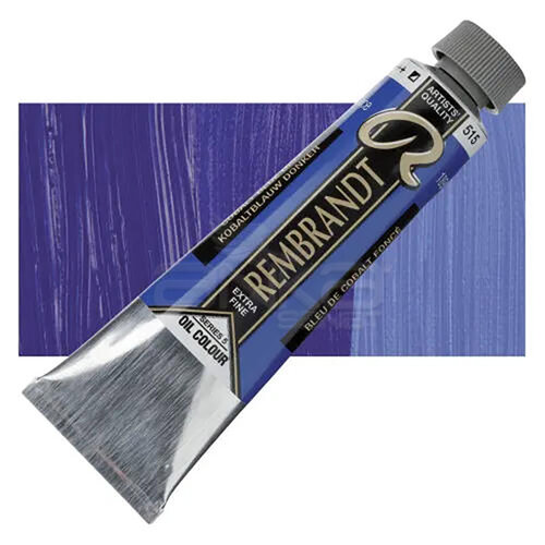 Rembrandt 40ml Yağlı Boya Seri:5 No:515 Cobalt Blue D - 515 Cobalt Blue D