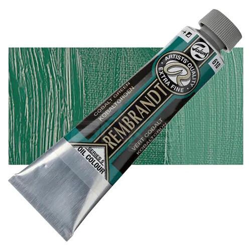 Rembrandt 40ml Yağlı Boya Seri:5 No:610 Cobalt Green - 610 Cobalt Green