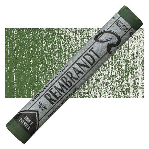Rembrandt Soft Pastel Boya Cinnabar Green Light 626.3