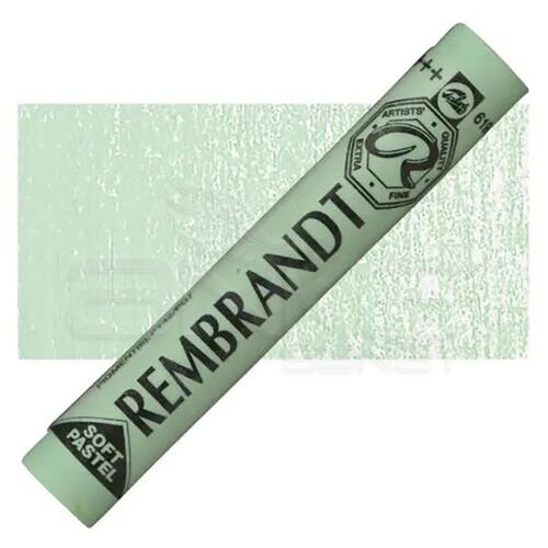 Rembrandt Soft Pastel Boya Permanent Green Deep 619.9