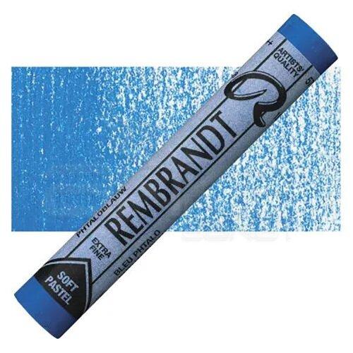 Rembrandt Soft Pastel Boya Phthalo Blue 570.5
