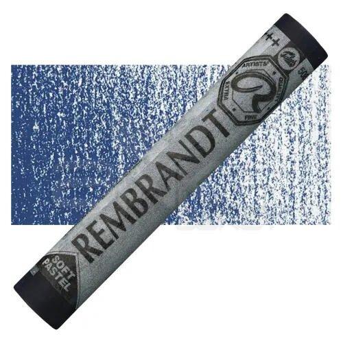 Rembrandt Soft Pastel Boya Prussian Blue 508.3