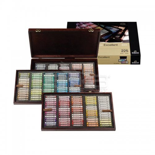 Rembrandt Soft Pastel Excellent Set 225li