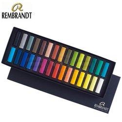 Rembrandt Soft Pastel Yarım Boy 30lu - Thumbnail