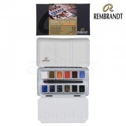 Rembrandt - Rembrandt Water Colour Box Sulu Boya Seti 12 Renk + Fırça Cityscape Selection