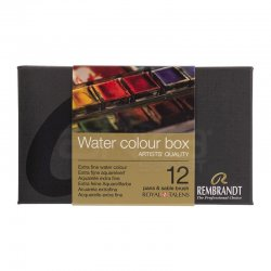 Rembrandt - Rembrandt Water Colour Box Sulu Boya Seti 12 Renk (1)