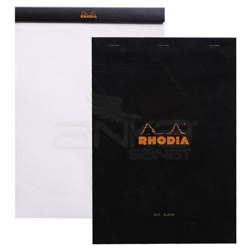 Rhodia Basic Bloknot Siyah Kapak 80g 80 Yaprak 210x297mm