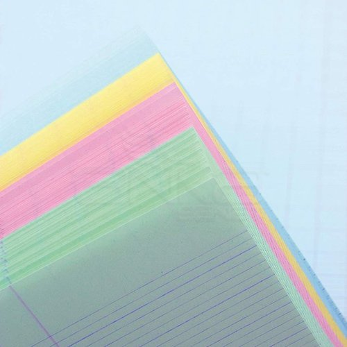 Rhodia Basic Bloknot Turuncu Kapak 4 Delikli 4 Renk Kağıt 80g 80 Yaprak 210x318mm