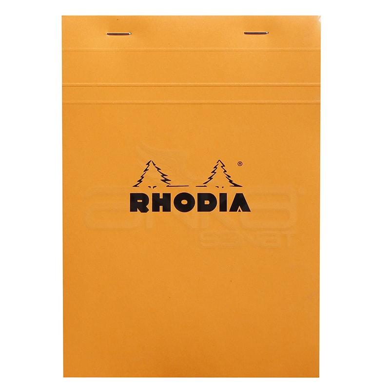Rhodia - Rhodia Basic Bloknot Turuncu Kapak 80g 80 Yaprak Kareli (1)