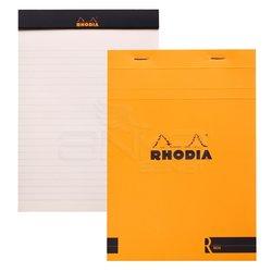 Rhodia - Rhodia Basic Bloknot Turuncu Kapak 90g 70 Yaprak 148x210mm